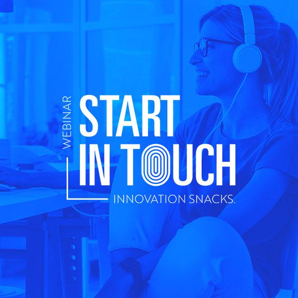 'Start in Touch: Innovation Snacks' ai blocchi di partenza