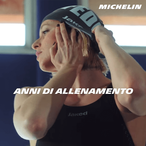Michelin Italia con Federica Pellegrini per la campagna 2021